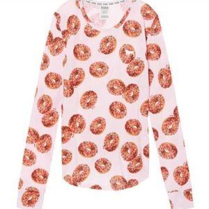 NWOT PINK Victoria's Secret Donut Thermal
